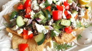 Appetizer Recipe Greek Style Nachos 1020224 By C 4 Bimbos