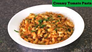 Creamy Tomato Macaroni Quick Tiffin Snack 1018854 By Sruthiskitchen