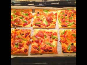 Puff Pastry Mini Pizzas One Pot Chef