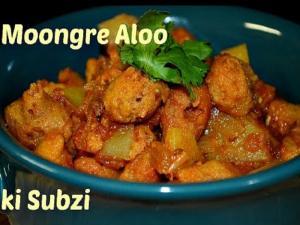 Moongre Ki Sabzi