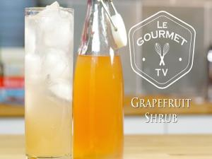 Grapefruit Shrub Recipe