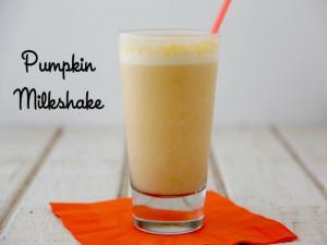 Pumpkin Milkshake 3