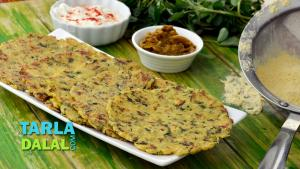 Corn And Vegetable Roti