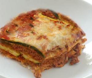Beef Zucchini Lasagna