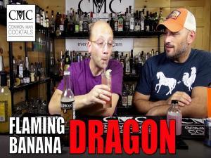 Flaming Banana Dragon