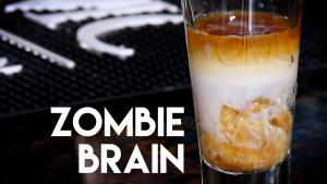 Walking Dead Shot The Zombie Brains Layered Shot 1016336 By Commonmancocktails