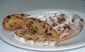German Stollen With Candied Fruit