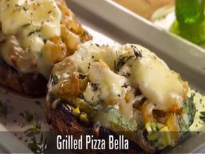 Grilled Pizza Bella