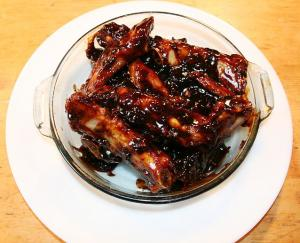 German Style Barbecued Spareribs