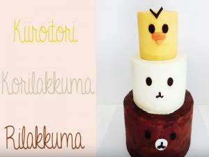 Rilakkuma And Friends Cake