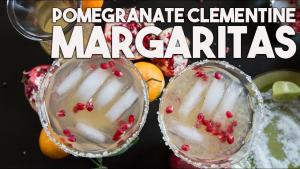 Pomegranate And Clementine Festive Margarita 1019318 By Kravingsblog