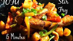 Tofu Fry Quick Easy Simply Awesome Vegetable Stir Fry 1019978 By Chawlaskitchen