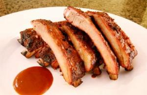 Honey Ginger Barbecued Ribs