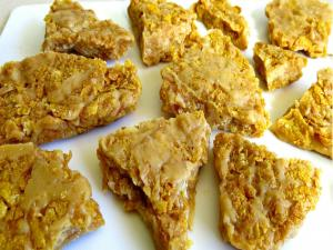 Peanut Butter Corn Flake Brittle