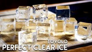 Tovolo Perfect Clear Ice Cubes Ice Hammock 1015782 By Commonmancocktails