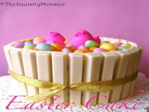 Easter Basket Funfetti Cake