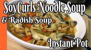 Noodle Soup And Veg Soup Ip