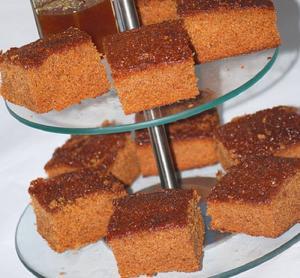 Honeysuckle Cake