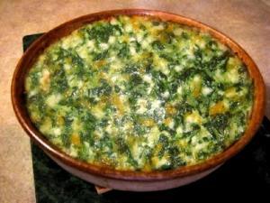 Spinach Tofu Casserole