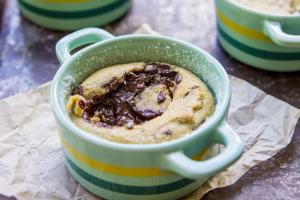 Chocolate Chip Cookie Lava Cakes 1017501 By Hotchocolatehits