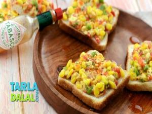 Grilled Corn Toast