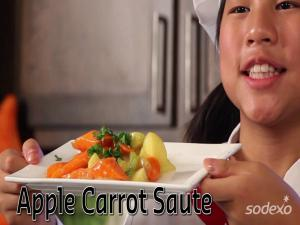Apple Carrot Saute