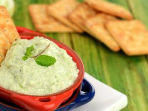 Cremy Cucumber Dip By Tarla Dalal