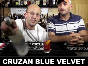 Cruzan Blue Velvet With Cruzan Rum