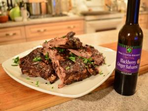 How To Cook Napa Valley Blackberry Ginger Balsamic Pork Side Ribs