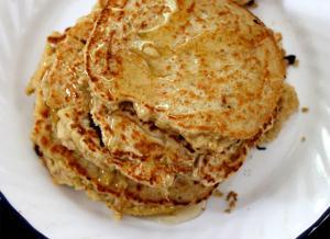 Freezer Oatmeal Pancakes