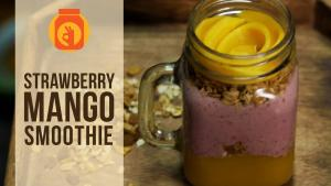 Strawberry Mango Smoothie Heathy Delicious Smoothie 1016876 By Beingindiansawesomesauce