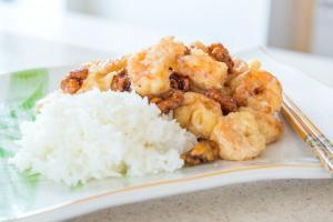 Honey Walnut Shrimp Chinese Takeout At Home 1017233 By Tarladalal