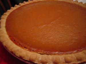 Luscious Pumpkin Pie