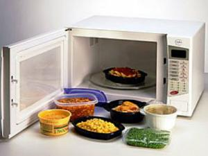 Microwave Cooked Food