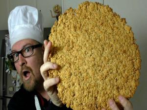 Giant Cheese Cookie Recipe