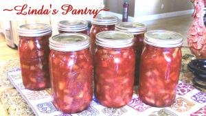 Canning Rhubarb Pie Filling 1017012 By Lindaspantry