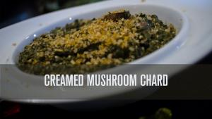Awesome Creamed Mushrooms Chard Dairy Free 1018838 By Theveggiechest