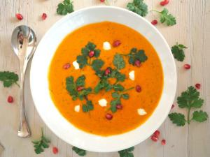 Soup Recipe Moroccan Spiced Butternut Squash Soup 1018808 By C 4 Bimbos