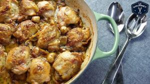 Honey Mustard Mushroom Stout Chicken Recipe