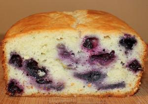 Blueberry Coffee Bread