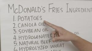 Find Out What Mcdonalds Really Put In Their Fries