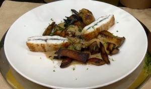 Truffle Stuffed Dover Sole