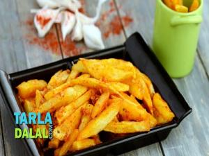 Chilli Garlic Fries