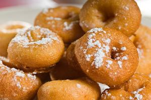 Spicy Spud Doughnuts