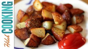 How To Make Home Fries Extra Crispy Home Fries Recipe Hilah Cooking