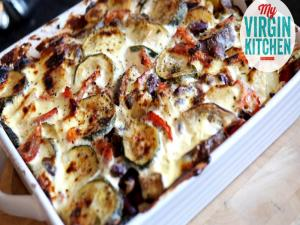 Homemade Vegetarian Moussaka