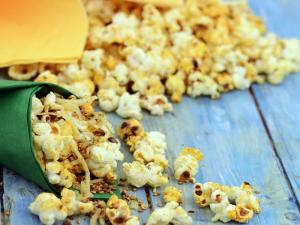 Spiced Sesame Popcorn By Trala Dalal