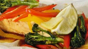 Asian Steamed Salmon Recipe 1006432 By Videojug