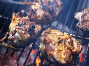 Bbq Curry Chicken A Quick Tasty Marinade