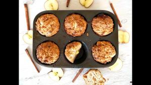 Breakfast Recipe Apple Crumb Muffins 1018189 By C 4 Bimbos